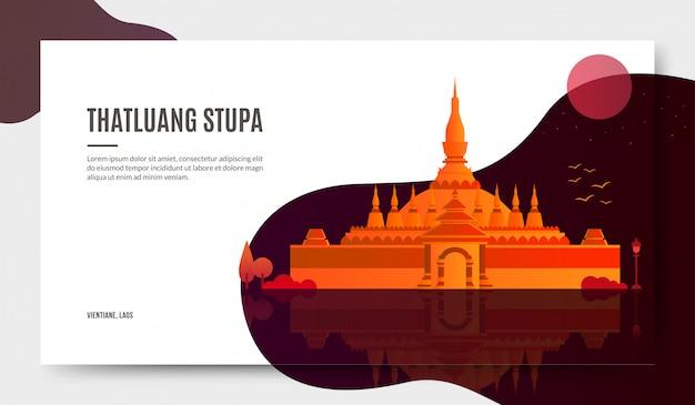 Stupa thatluang