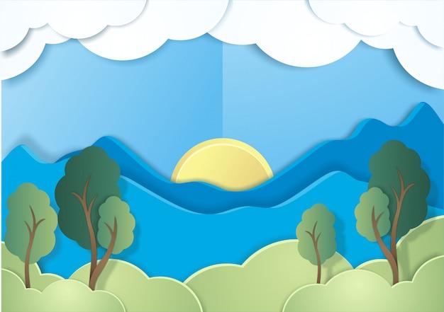 Styl ekologicznego papieru ekologicznego