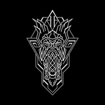 Styl geometrii old warrior