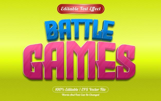 Styl szablonu edytowalnego efektu tekstowego w grach bitewnych