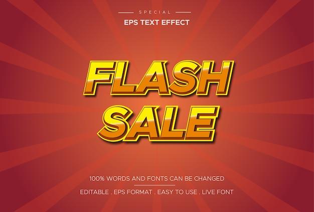 Styl szablonu efektu sprzedaży flash