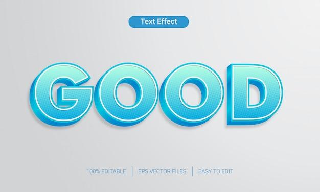 Styl tekstu niebieski gradient