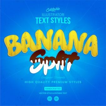 Styl tekstu podziału bananów
