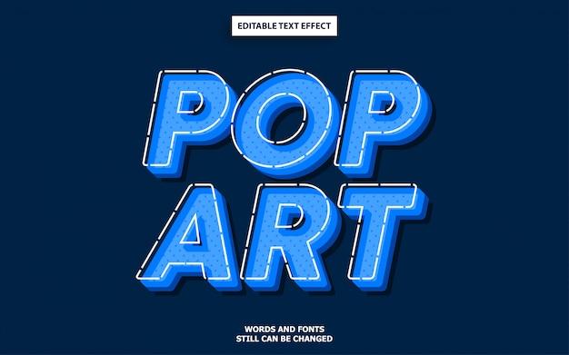 Styl tekstu pop-art