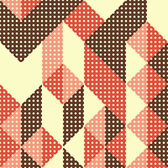 Styl vintage streszczenie geometryczny wzór.