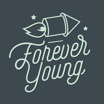 Styl zawsze młodych liter