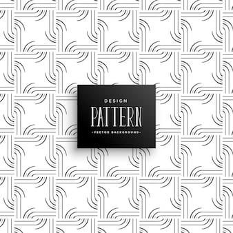 Stylowe linie abstrakcyjne kreatywny wzór