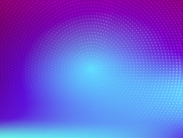 Stylowe nowoczesne kolorowe tło wektor półtonów