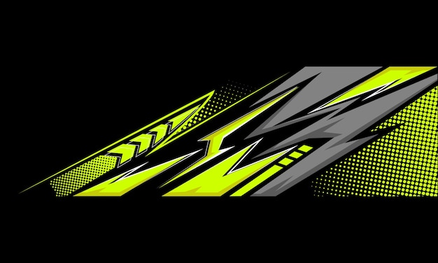 Stylowe sportowe tło z geometrycznymi ostrymi kształtami