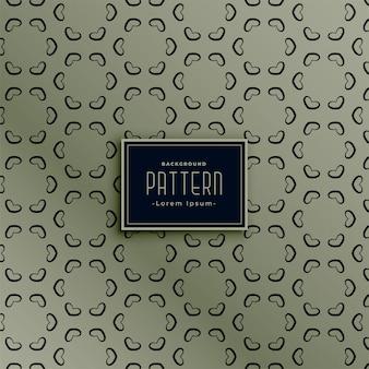 Stylowy sześciokątny wzór rocznika tle elegancki design
