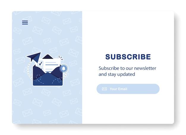 Subskrypcja Marketingu E-mailowego Premium Wektorów