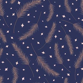 Suchych liści palmowych wzór