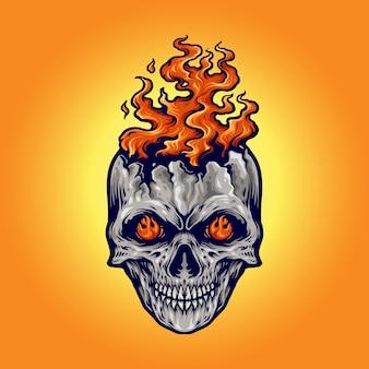 Sugar skull dia de los muertos meksyk