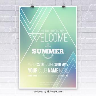 Summer party plakat