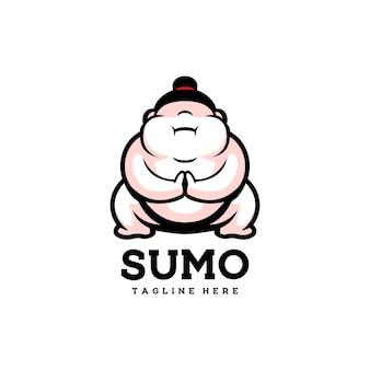 Sumo ładny japonia azjatycki mężczyzna sport szczęśliwy tłuszcz
