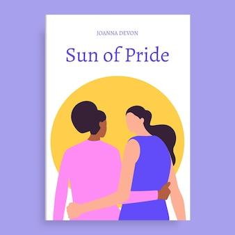 Sun of pride okładka książki watowej