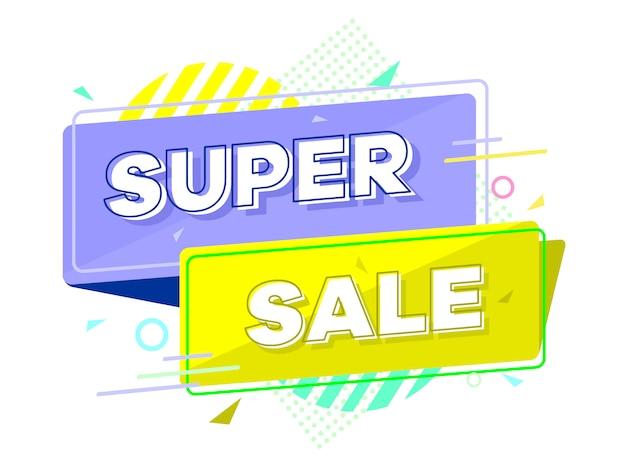 Super baner sprzedaży