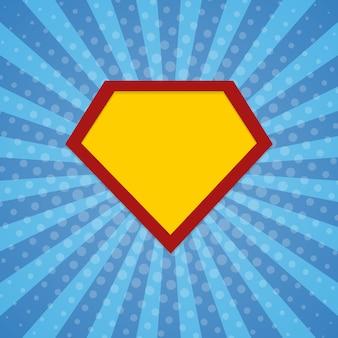 Super bohater promienie tło rastra