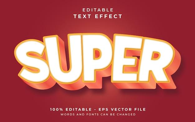 Super edytowalny efekt tekstowy