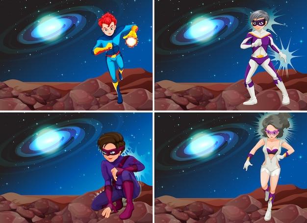 Superbohaterowie w kosmosie