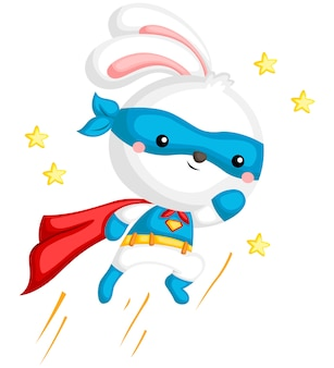 Superhero rabbit