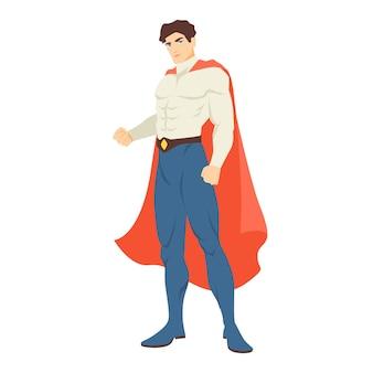 Superman lub superbohater.