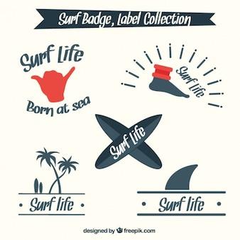 Surf lifestyle odznaka kolekcji