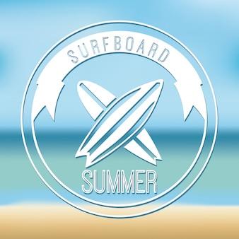 Surfować prosty element