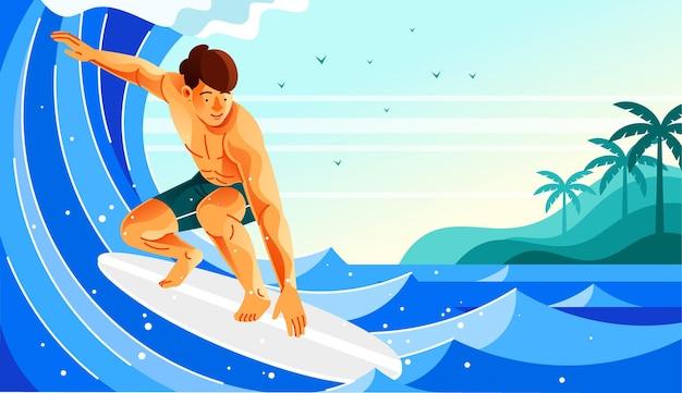 Surfowanie na falach