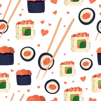 Sushi wzór.