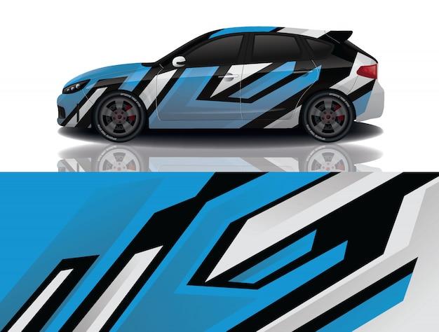 Suv samochód naklejek ilustracji