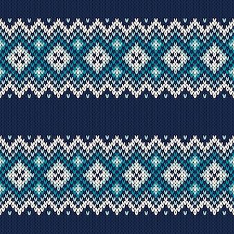 Sweter z dzianiny. bezszwowe tło. imitacja tekstury dzianiny wełnianej