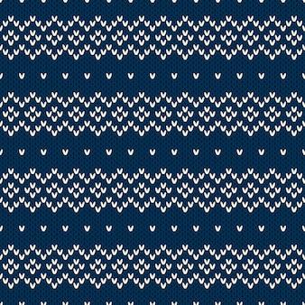 Sweter z dzianiny. wzór