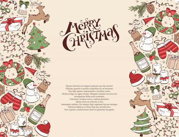 Świąteczna kartka z pozdrowieniami