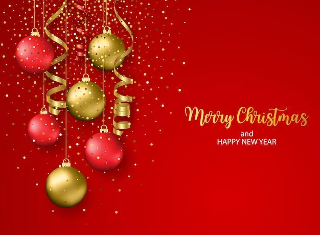 Świąteczna kartka z życzeniami