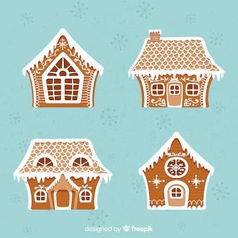 Świąteczna kolekcja domów z piernika