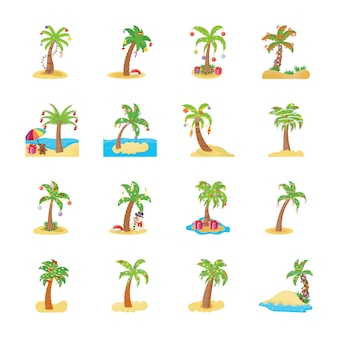 Świąteczne palmy
