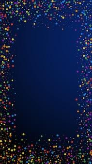 Świąteczne, piękne konfetti