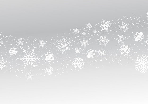 Świąteczne płatki śniegu