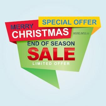 Świąteczne wyprzedaże i szablony sezonowych rabatów, baner. wielka wyprzedaż, wyprzedaż. projekt szablonu transparent sprzedaż.