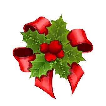 Świąteczny bukiet holly