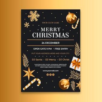 Świąteczny plakat a4