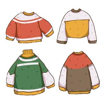 Świąteczny zestaw swetrów