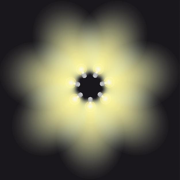 Światło lampy