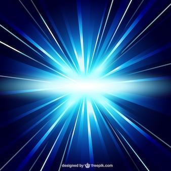 Światło niebieskie tło