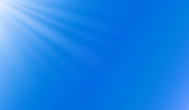 Światło słoneczne pod błękitnym oceanem