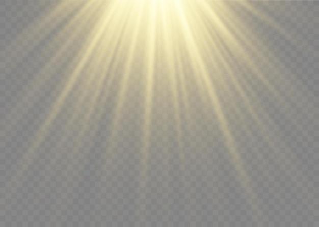 Światło słoneczne, specjalny efekt świetlny, błysk soczewki przeciwsłonecznej