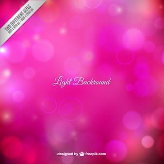 Światło w tle różowej tonacji