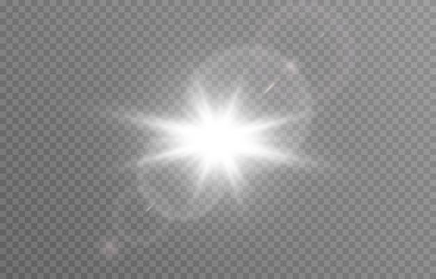 Światło z odblaskiem