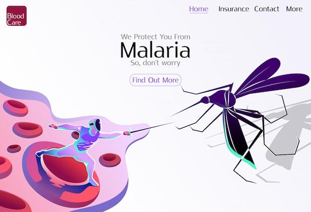Światowa opieka zdrowotna na rzecz malarii